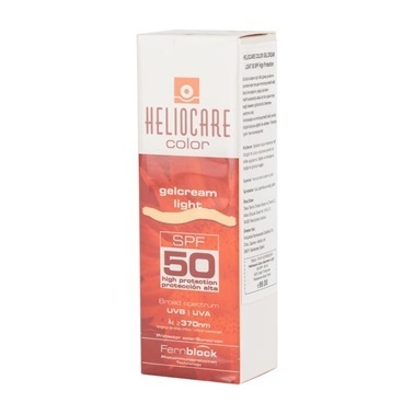 Heliocare Color SPF50 Gelcream Light 50ml Renksiz